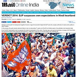 India elections: BJP surpasses own expectations in Hindi heartland