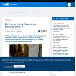 Élections en France : l'abstention de vote est-elle en hausse ?