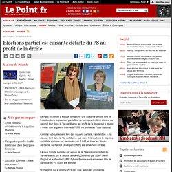 Elections partielles: cuisante défaite du PS au profit de la droite