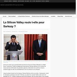 La Silicon Valley roule t-elle pour Sarkozy ?
