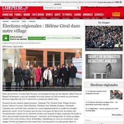 Élections régionales : Hélène Giral dans notre village - 28/11/2015 - ladepeche.fr