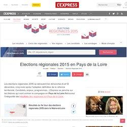 Elections régionales 2015 Pays de la Loire