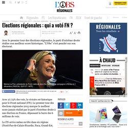 Elections régionales : qui a voté FN ?