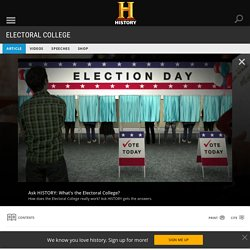 Electoral College - Facts & Summary