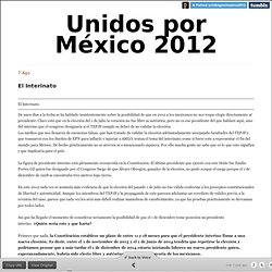 Electoral Fraud in Mexico 2012