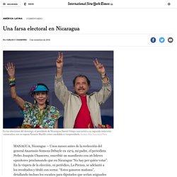 Una farsa electoral en Nicaragua – Español