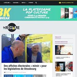 Des affiches électorales «miroir» pour les législatives de Strasbourg