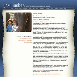 Jami Sieber - Electric and Acoustic Cellist, Vocalist and Composer
