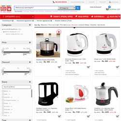 Buy Electric Kettle Online at Homeshop18