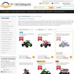 Kids Electric ATV - Battery Powered Ride on ATVs and Quads