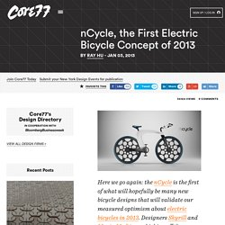 nCycle, the First Electric Bicycle Concept of 2013