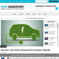 Electric Cars Pave the Way for Green Tech