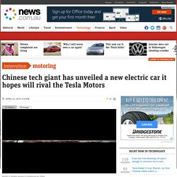 Tesla Model S rival: Electric car from Chinese maker LeEco unveiled