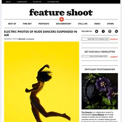 Electric Photos of Nude Dancers Suspended in Air