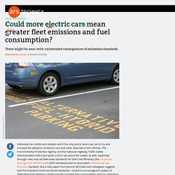 Could More EVs Mean More Emissions & Fuel Consumption?