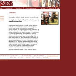Electric Guitar Lessons in Skokie, IL