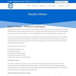 Electric Motor Brake Manufacturers