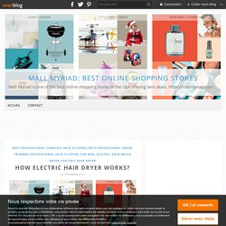 How Electric Hair Dryer Works? - Mall Myriad: Best Online Shopping Stores