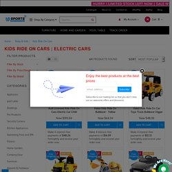 #1 Kids ride on cars and electric cars online Store in Australia