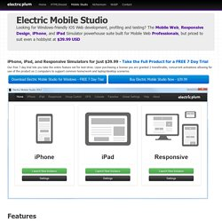 Electric Plum - Power for the Mobile Web