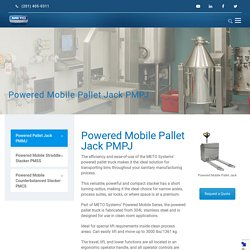 Powered Mobile Pallet Jack PMMJ