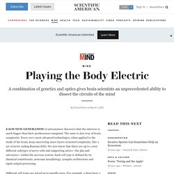 Playing the Body Electric