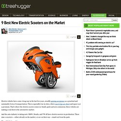 9 Best New Electric Scooters on the Market
