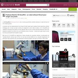 Yaskawa Electric VII SmartPal : un robot utilisant Kinect pour ranger vos jouets