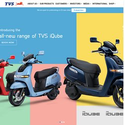 TVS iQube - Smart Electric Scooter in India - Price, Features and Specification