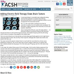 Adding Electric-field Therapy Slows Brain Tumors - American Council on Science and Health