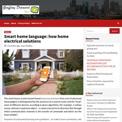electrical solutions for best smart home automation in 2020
