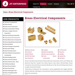 Brass Electrical Terminals - Jit Enterprise
