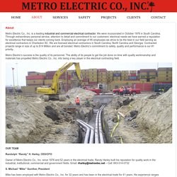 Electrical Contractors North Carolina and South Carolina