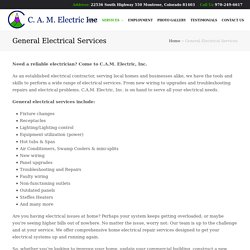 Industrial Electrical Services in Ouray CO