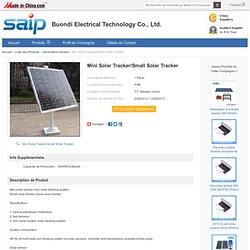 Mini traqueur solaire/petit traqueur solaire – Mini traqueur solaire/petit traqueur solaire fournis par Buondi Electrical Technology Co., Ltd. pour France