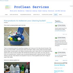 Great Cleaning Tips - Proclean, Carpet Cleaning, HVAC, Electrical, White Glove, and Housekeeping services.