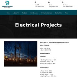 Electrical Projects Installation