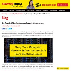 The Best Electrical Tips for Computer Network Installation