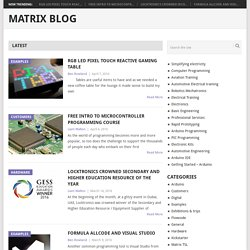 Electrical Electronic And Programming News