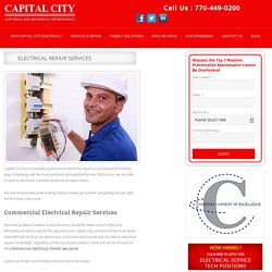 Electrical Repair Services Atlanta