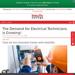 The Demand for Electrical Technicians is Growing!