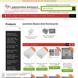 Junction Boxes And Adaptable Boxes