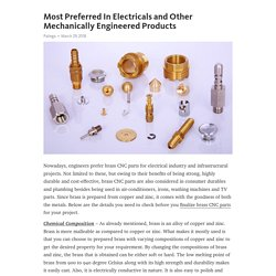 Most Preferred In Electricals and Other Mechanically Engineered Products