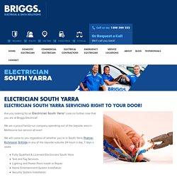 Electrician South Yarra