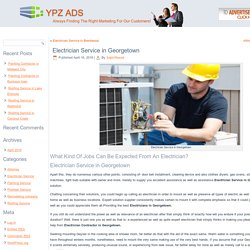Electrician Contractor in Georgetown