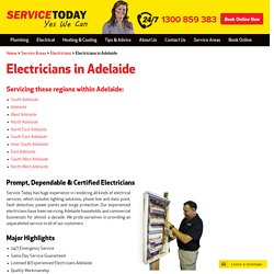 Emergency Electrician Adelaide