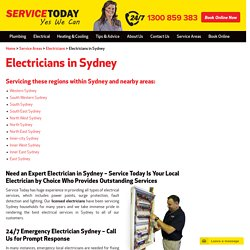 24 Hour Emergency Electrician Sydney
