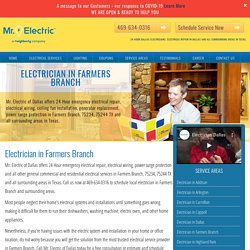 Insured Local Electricians in Farmers Branch
