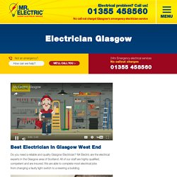 Electrician Glasgow - Mr Electric
