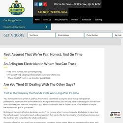 Electricians Arlington VA